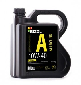 روغن موتور BIZOL Allround 10W-40_4L